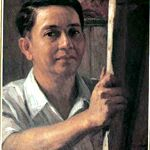 Fernando Amorsolo (detail of a self-portrait)
