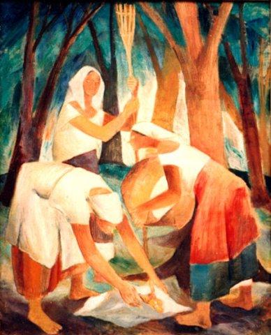 Painting by Anita Magsaysay-Ho