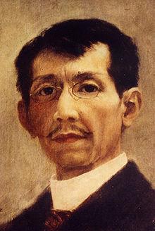 Self portrait- Félix Resurrección Hidalgo, 1901