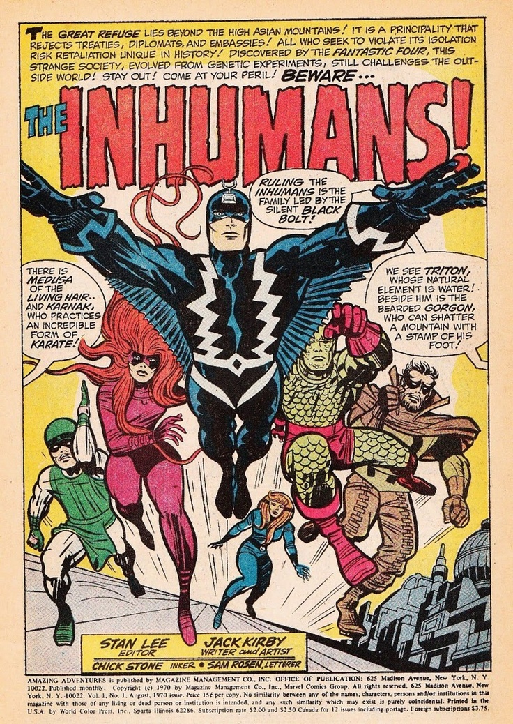 InHumans by Kirby and Lee
